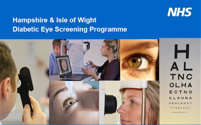 Diabetic eye screening programme