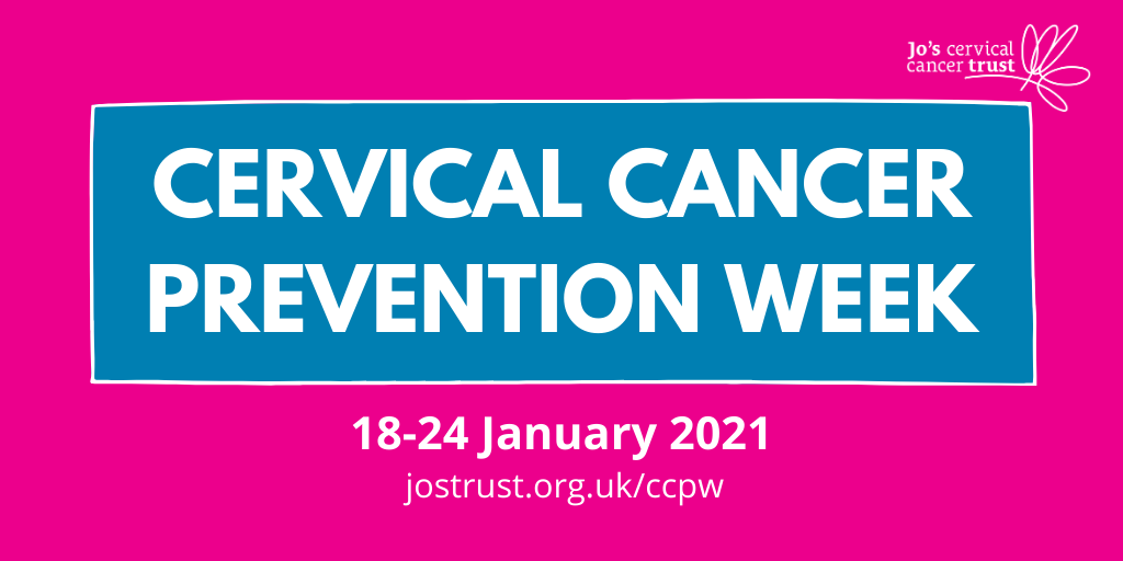 Cervical Cancer prevention week 18-24 January 2021