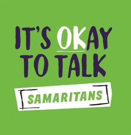 It's OK to talk - Samaritans