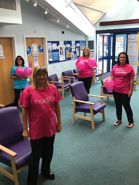 cervical screening week at rowner surgery